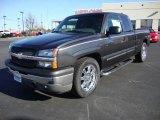 2005 Dark Gray Metallic Chevrolet Silverado 1500 Extended Cab #24436533