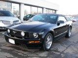 2006 Black Ford Mustang GT Premium Convertible #24436542