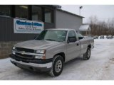 2005 Silver Birch Metallic Chevrolet Silverado 1500 LS Regular Cab 4x4 #24436609