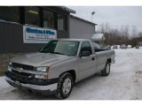 2005 Silver Birch Metallic Chevrolet Silverado 1500 Regular Cab #24436614