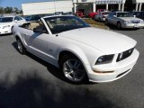 2007 Performance White Ford Mustang GT Premium Convertible #24436862