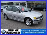 2005 Titanium Silver Metallic BMW 3 Series 325xi Sedan #24436871