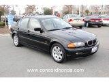 2001 Jet Black BMW 3 Series 325i Sedan #24492920