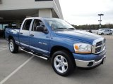 2006 Atlantic Blue Pearl Dodge Ram 1500 SLT Quad Cab 4x4 #24493537