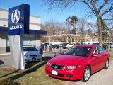 2005 Milano Red Acura TSX Sedan #24493318