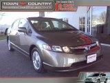 2007 Galaxy Gray Metallic Honda Civic Hybrid Sedan #24493519