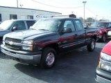 2003 Dark Gray Metallic Chevrolet Silverado 1500 LS Extended Cab 4x4 #24493257
