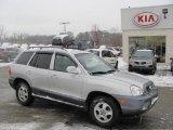 2004 Pewter Hyundai Santa Fe LX #24493325