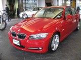 2009 Crimson Red BMW 3 Series 335i Sedan #24493340