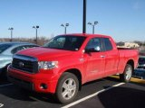 Radiant Red Toyota Tundra in 2008