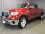 2007 Salsa Red Pearl Toyota Tundra SR5 Double Cab 4x4 #24493168