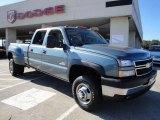2006 Chevrolet Silverado 3500 Blue Granite Metallic