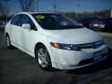 2007 Taffeta White Honda Civic EX Sedan #2431992
