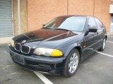 2001 Jet Black BMW 3 Series 325i Sedan #24493108