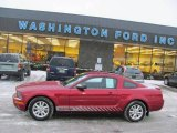 2007 Redfire Metallic Ford Mustang V6 Deluxe Coupe #24493114