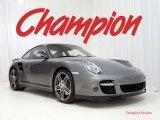 2007 Meteor Grey Metallic Porsche 911 Turbo Coupe #24492934