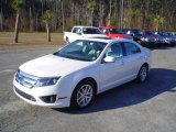 2010 White Suede Ford Fusion SEL V6 #24493661