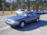 2009 Norsea Blue Metallic Mercury Grand Marquis LS #24493664
