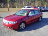 2008 Vivid Red Metallic Lincoln MKZ Sedan #24493667
