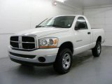 2006 Bright White Dodge Ram 1500 ST Regular Cab 4x4 #24493703