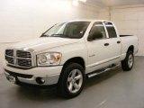 2008 Bright White Dodge Ram 1500 Big Horn Edition Quad Cab 4x4 #24493706