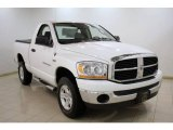 2006 Bright White Dodge Ram 1500 SLT Regular Cab 4x4 #24493761