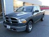 2010 Mineral Gray Metallic Dodge Ram 1500 ST Quad Cab 4x4 #24493810