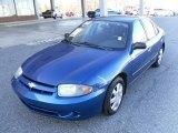 2003 Arrival Blue Metallic Chevrolet Cavalier LS Sedan #24493814