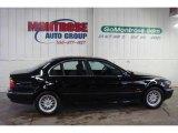 2000 Jet Black BMW 5 Series 528i Sedan #24493845
