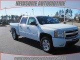 2009 Summit White Chevrolet Silverado 1500 LT Crew Cab 4x4 #24493923