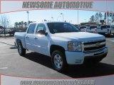 2009 Summit White Chevrolet Silverado 1500 LT Crew Cab 4x4 #24493924