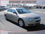 2008 Sandstone Metallic Chevrolet Malibu LS Sedan #24493943