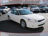 2006 White Chevrolet Monte Carlo LT #24493946