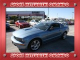 2007 Windveil Blue Metallic Ford Mustang GT Premium Coupe #24493965