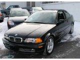 2001 Jet Black BMW 3 Series 330i Coupe #24494035
