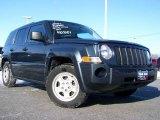 2007 Steel Blue Metallic Jeep Patriot Sport 4x4 #24588032