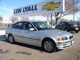 2000 Titanium Silver Metallic BMW 3 Series 323i Sedan #24588487