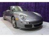 2007 Meteor Grey Metallic Porsche 911 Carrera 4S Coupe #24588873