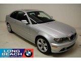 2006 Titanium Silver Metallic BMW 3 Series 325i Coupe #24588852