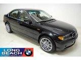 2005 Jet Black BMW 3 Series 330xi Sedan #24588851