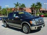 2010 Tuxedo Black Ford F150 King Ranch SuperCrew #24588364