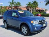 2009 Sport Blue Metallic Ford Escape XLT V6 4WD #24588371