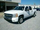2009 Summit White Chevrolet Silverado 1500 LT XFE Crew Cab #24588376