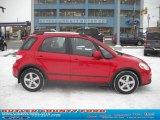 2007 Bright Red Suzuki SX4 Sport AWD #24588656