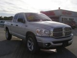 2008 Bright Silver Metallic Dodge Ram 1500 ST Quad Cab #24588665