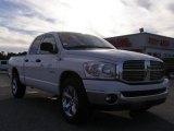 2008 Bright White Dodge Ram 1500 Big Horn Edition Quad Cab #24588666