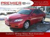 2008 Barcelona Red Metallic Toyota Camry LE #24588678