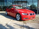 2007 Crimson Red BMW 3 Series 335i Coupe #24588684