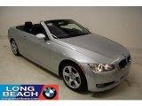 2008 Titanium Silver Metallic BMW 3 Series 328i Convertible #24588850