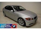 2008 Titanium Silver Metallic BMW 3 Series 335i Sedan #24588848